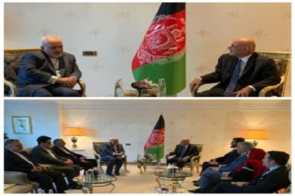 Zarif, Ashraf Ghani meet in Istanbul