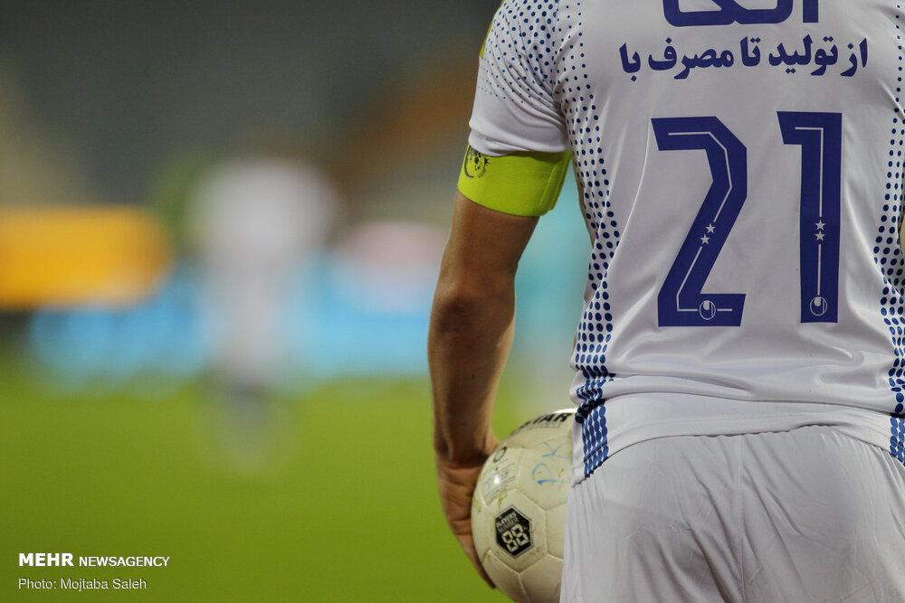 دیدار تیم های فوتبال استقلال و پیکان