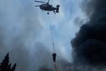 Azerbaycan'da ticaret merkezinde yangın