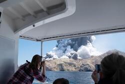 ثوران بركان في نيوزيلندا/صور