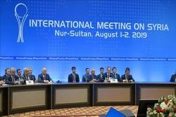 Suriye konulu 14. Astana toplantısı Nur-Sultan'da başladı