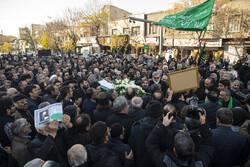 مرحوم سید قاسم موسوی قہار کی تشییع جنازہ