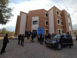 Health minister visit to Shahroud for project inauguration