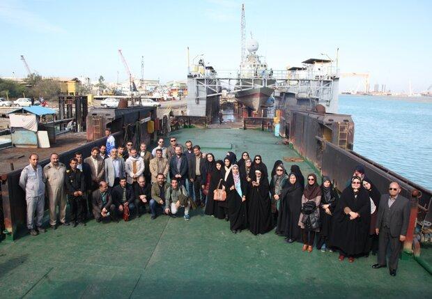 پژوهشگران دفاتر فرهنگ و پایداری استانها به بوشهر سفر کردند