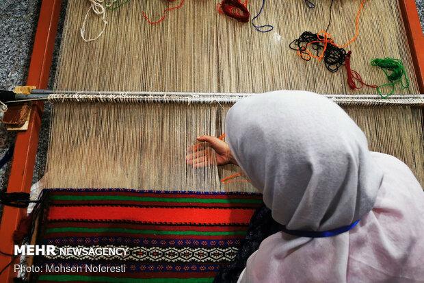 """İran'da düzenlenen """"4. El Sanatları Sergisi""""nden kareler"""