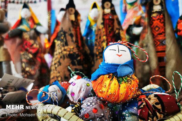 نمایشگاه صنایع دستی شب یلدا در ۱۰ شهرستان مازندران برپا شد