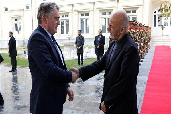 اشرفغنی با عضو شورای ریاست جمهوری بوسنی دیدار کرد