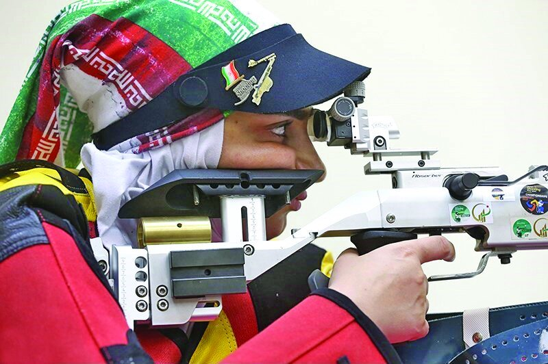 Para shooters train for 2019 World Shooting