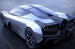 تولید آیرودینامیک ترین خودروی دنیا