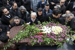 مرحوم شعبانخانی کی تشیع جنازہ