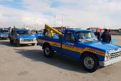 امدادخودرو کانونیان با ۱۰۵ دستگاه خودرو در خدمت مسافران است