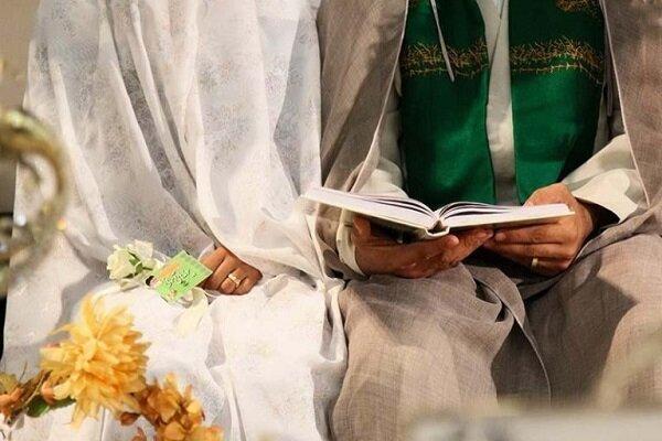 آغاز زندگی مشترک ۱۳۲ زوج جوان از کنار حرم مطهر رضوی