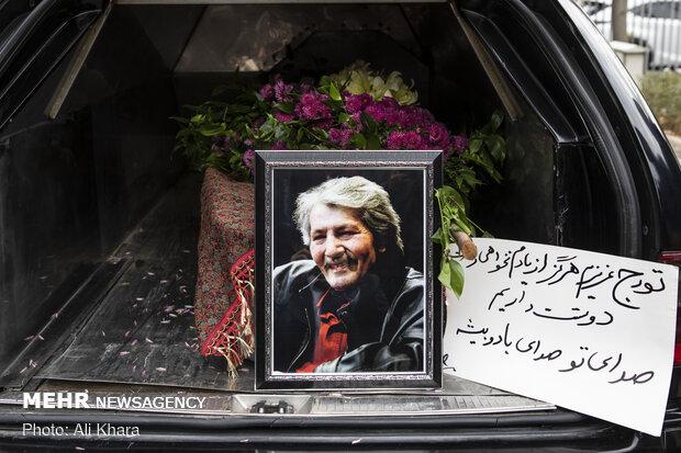 Funeral procession of Iranian composer Touraj Shabankhani