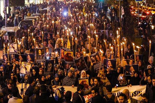 راهپیمایی اعتراضی در استانبول علیه شرایط نامناسب زندانهای مصر