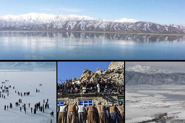 زمستان کردستان چشمانتظار گردشگر/یخچالهای طبیعی جلوه گری میکنند,