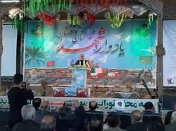 یادواره سرداران و ۶۷۰ شهید شهرستان دشتستان برگزار شد
