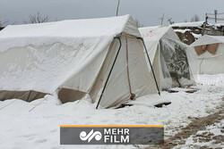 وضعیت زندگی در مناطق زلزلهزده آذربایجان شرقی پس از زلزله