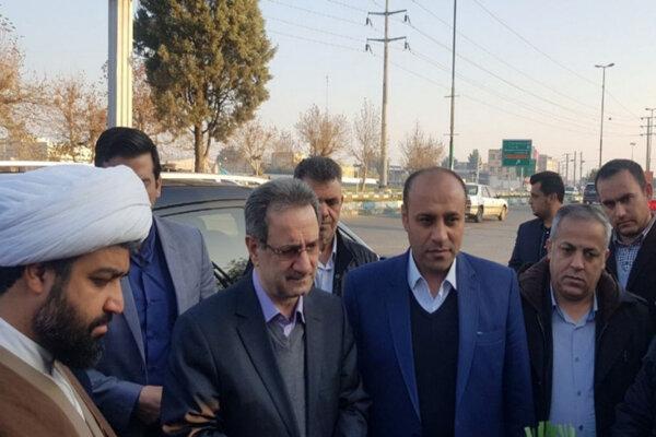 سفر یک روزه استاندار تهران به پیشوا آغاز شد