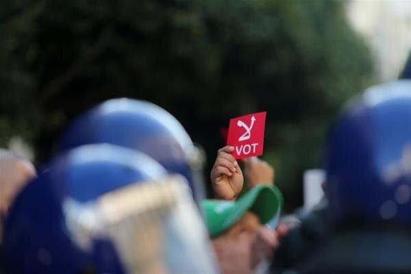 انتخابات ریاست جمهوری الجزایر به پایان رسید/ نرخ مشارکت: ۳۳ درصد