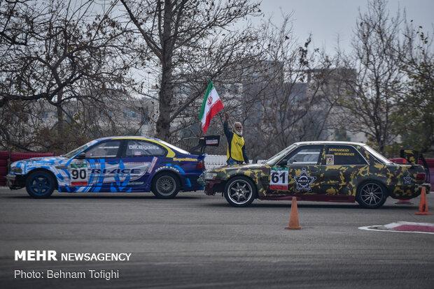 İran Drift Şampiyonası'ndan kareler