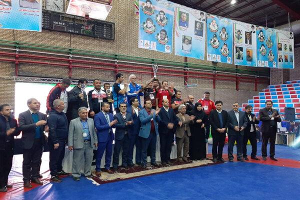 ایران درمسابقات بین المللی کشتی نونهالان و نوجوانان قهرمان شد