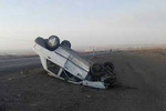 واژگونی پراید در جاده دورود- بروجرد یک کشته و دو زخمی برجای گذاشت