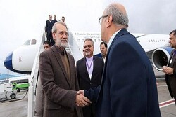 Iranian Parl. Speaker arrives in Antalya