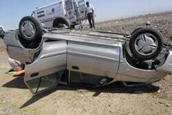واژگونی خودرو در جاده اراک-قم یک کشته و ۵ مصدوم برجای گذاشت