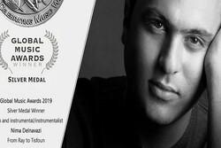 Iranian musician wins award at Global Music Awards 2019
