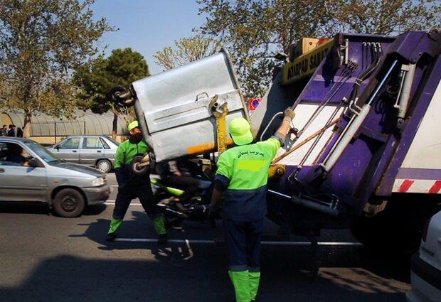 جمعآوری زباله با ۳۶ دستگاه خودرو مکانیزه در کرمانشاه
