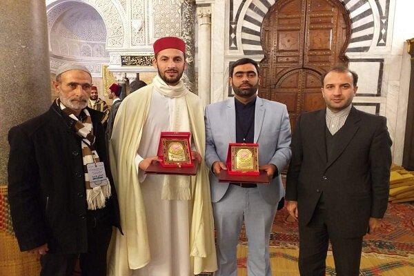 نماینده ایران در مسابقات بین المللی قرآن تونس در جایگاه دوم نشست