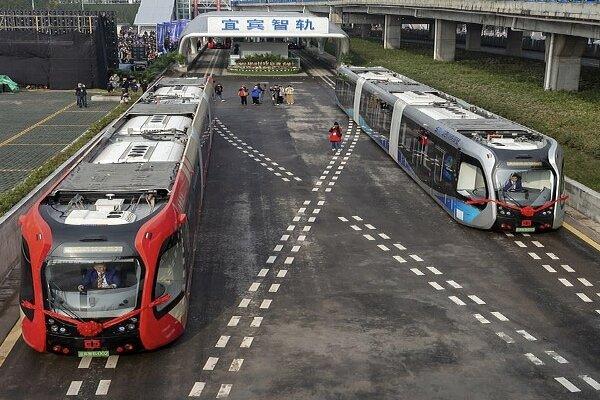 قطار خودران روی ریل مجازی حرکت کرد