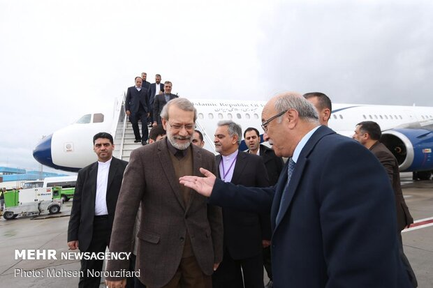 Larijani arrives in Antalya