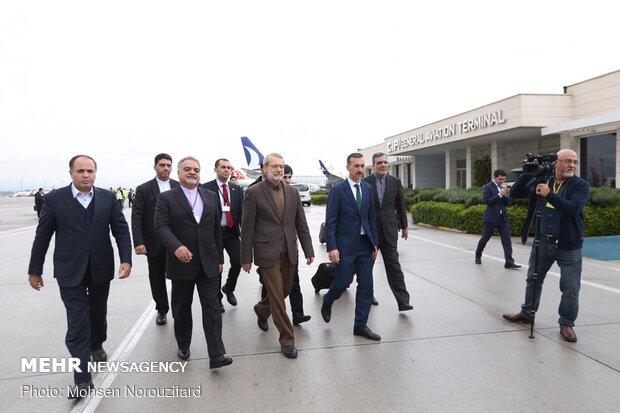 İran Meclis Başkanı Antalya'da
