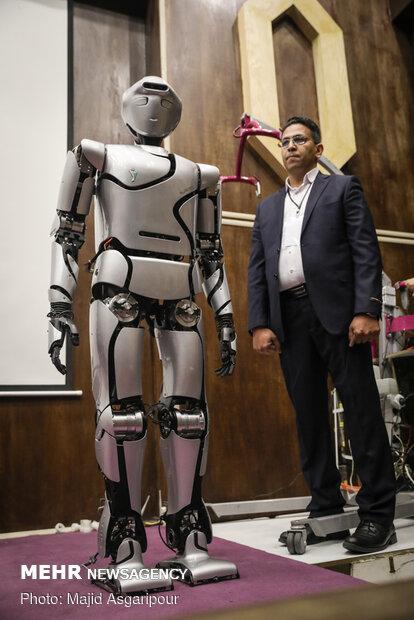 Unveiling ceremony of SURENA IV humanoid robot