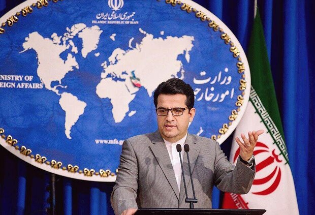 FM spox slams France's stance on Iranian, French detainees