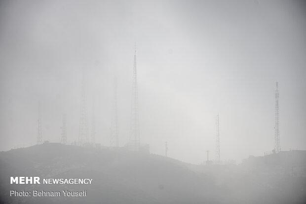 نفسهای اراک به شماره افتاد/تداوم وضعیت ناسالم هوا در روز دوازدهم