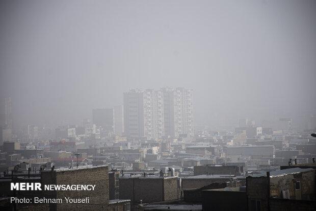آلایندگی صنایع ،پیشتاز آلودگی هوای اراک