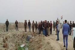 کشف یک گور دسته جمعی در فلوجه عراق+تصاویر