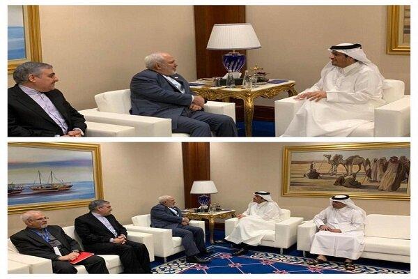 Dışişleri Bakanı Zarif'in Katar temasları sürüyor