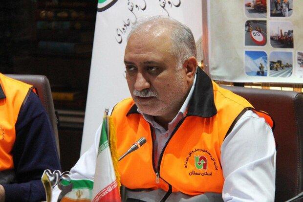 ۹ میلیون تردد در محورهای مواصلاتی استان سمنان ثبت شد