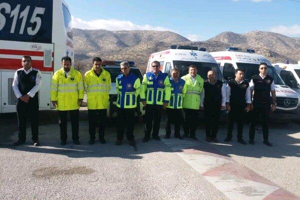 مانور طرح زمستانه دستگاههای خدماترسان استان برگزار شد