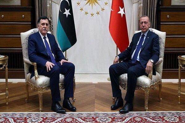 دیدار اردوغان با فائز السراج