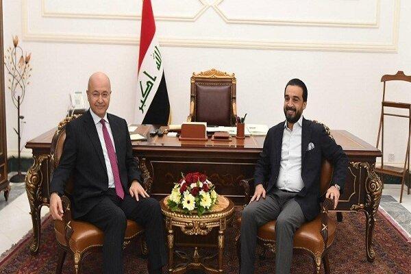 صالح از حلبوسی خواست که ائتلاف بزرگ پارلمان را مشخص کند