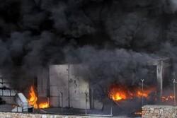 İstanbul'da metrobüste yangın çıktı