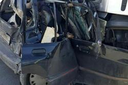 دو کشته در تصادف جاده ازنا- اراک