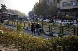 کیفیت هوای تهران در مرز ناسالم برای گروههای حساس