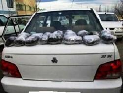 شک پلیس هوشیار به خودروی عبوری و کشف ۸۰ کیلو تریاک
