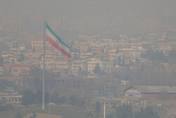 Tehran in smog
