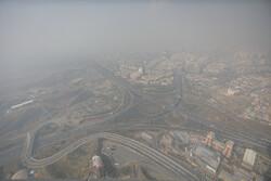 تہران میں فضائی آلودگی کا سلسلہ جاری